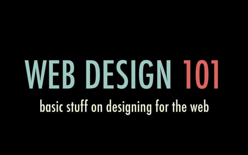 web-design-101