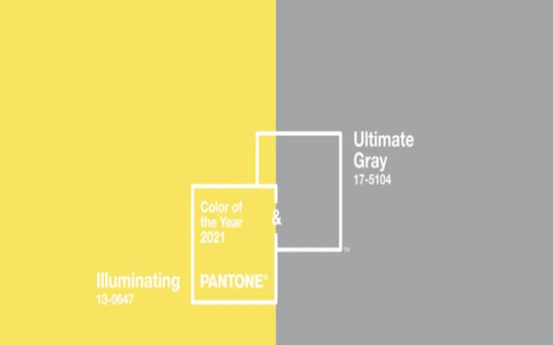 Pantone 2021 (Ultimate Gray & shining colors)